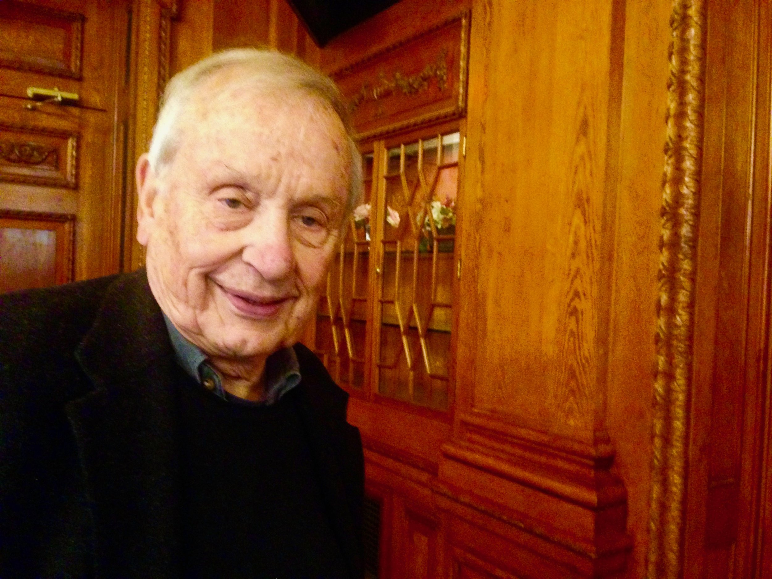 """Pete Gurney at Hartford's There Bushnell; for """"Love Letters"""" last February."""