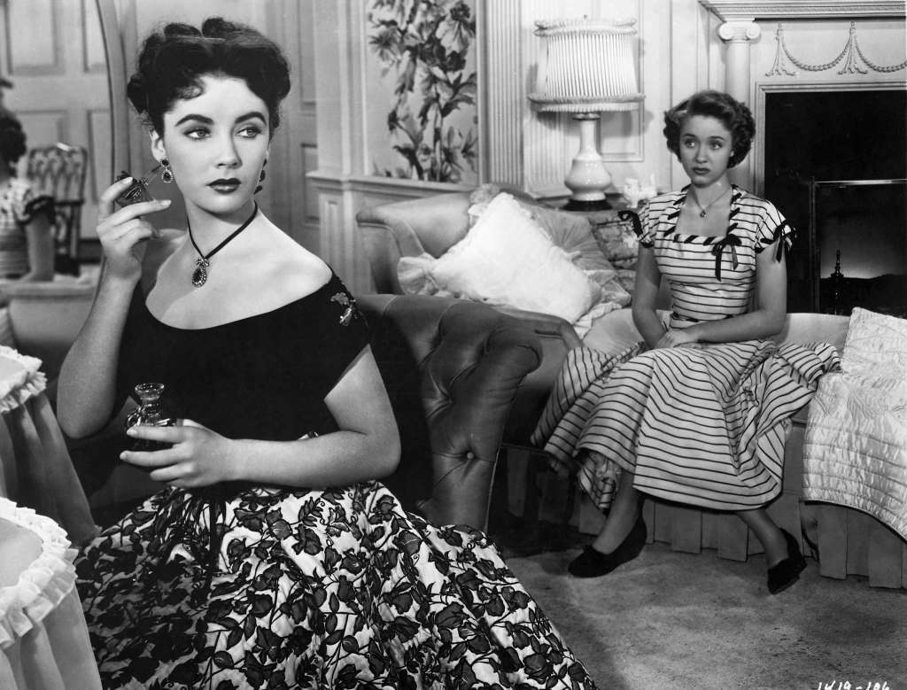 "Elizabeth Taylor and Jane Powell in ""A Date with Judy"""