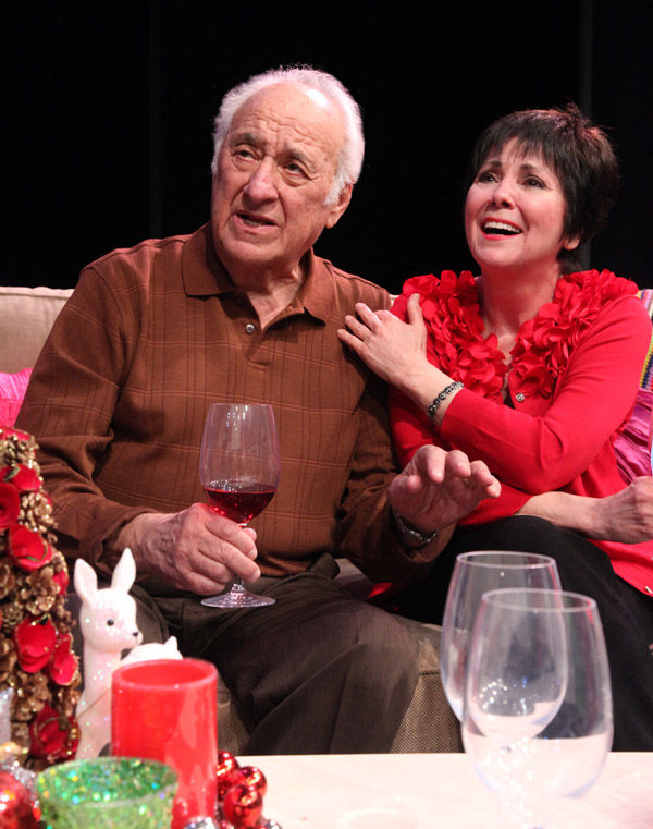 """Jerry Adler and Joyce DeWitt in """"I'm Connecticut"""" by Mike Reiss"""