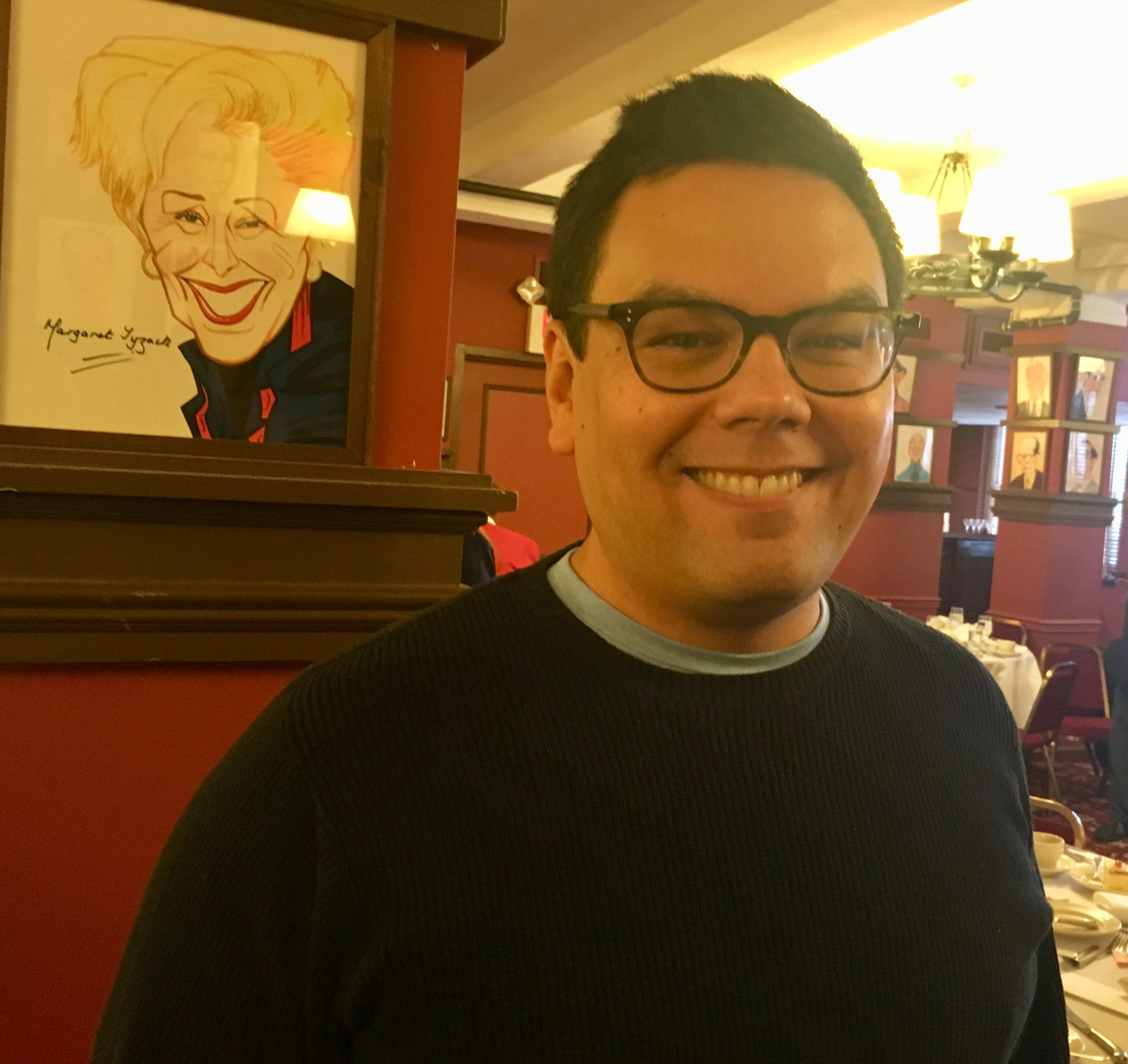"""Frozen"" co-cpmposer and Yale grad Bobby Lopez. He also did ""Avenue Q"" and ""Book of Mormon."""