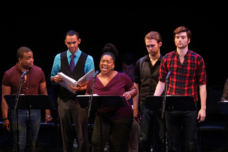"Reading of ""Five Points"" at Goodspeed Opera House"