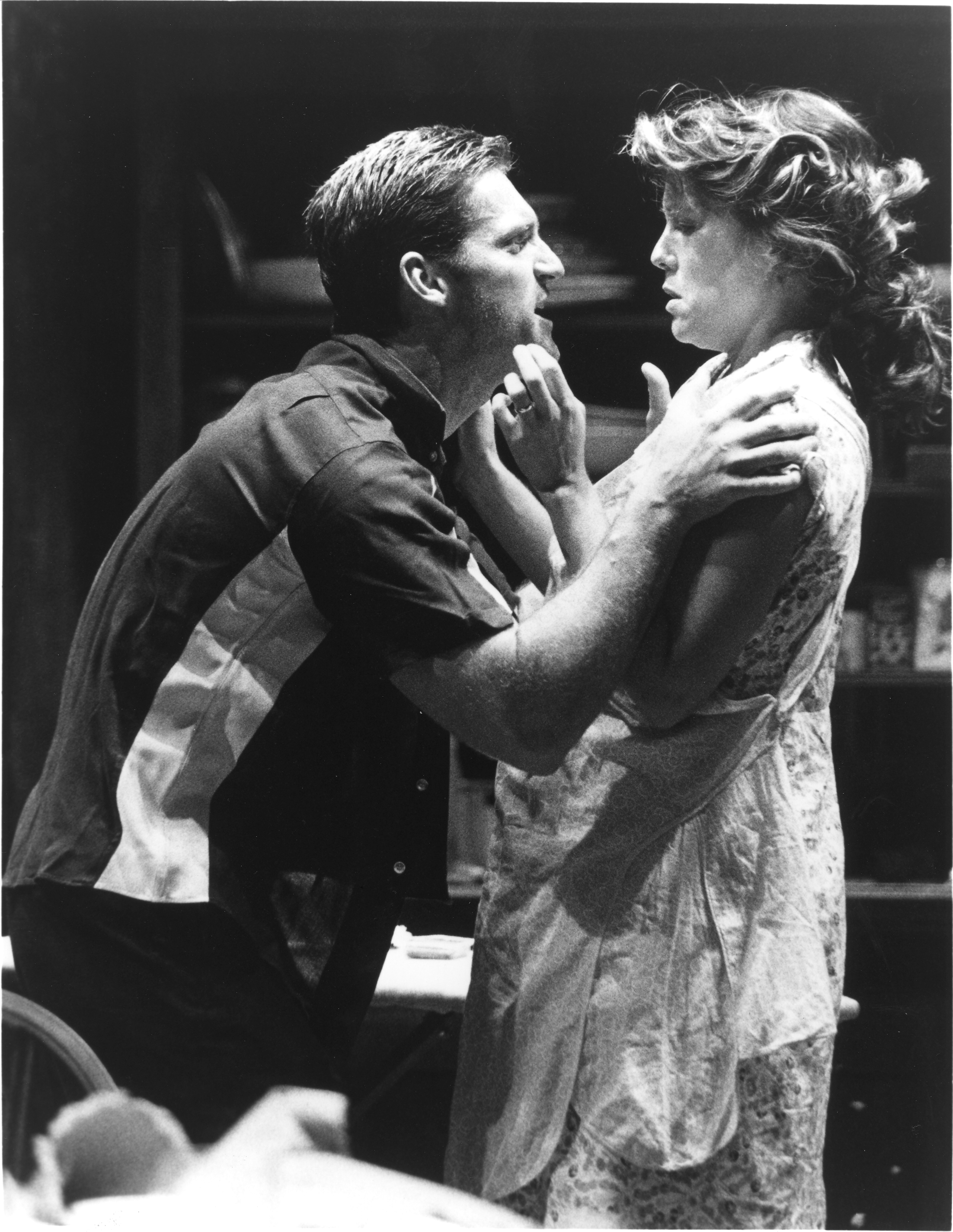 "James Colby and Alyssa Bresnahan in ""Streetcar"""