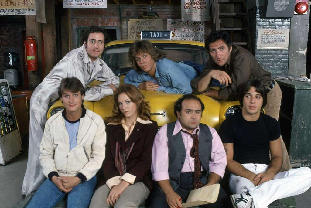 """Cast of TV's """"Taxi"""""""