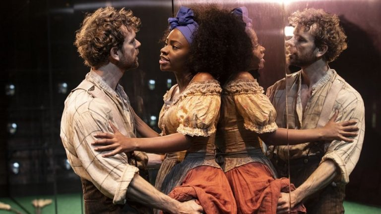 """Scene from off-Broadway's """"Slave Play"""""""