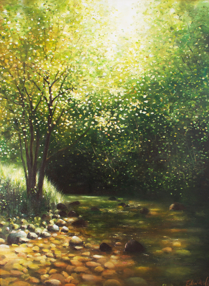 Pebbles of Summer - Oil on Canvas 2007