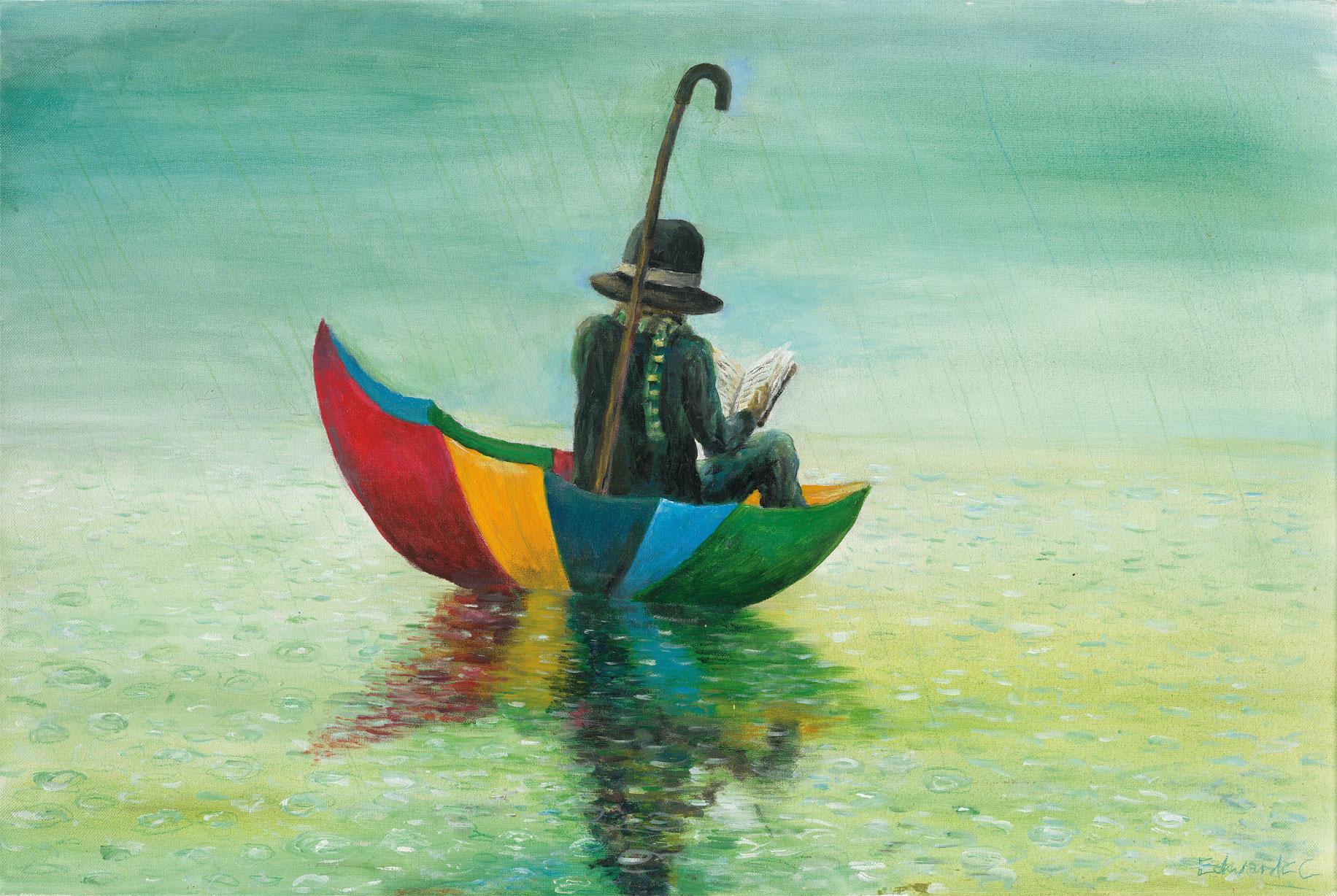Umbrella Man - Acyrlic on Canvas 2005