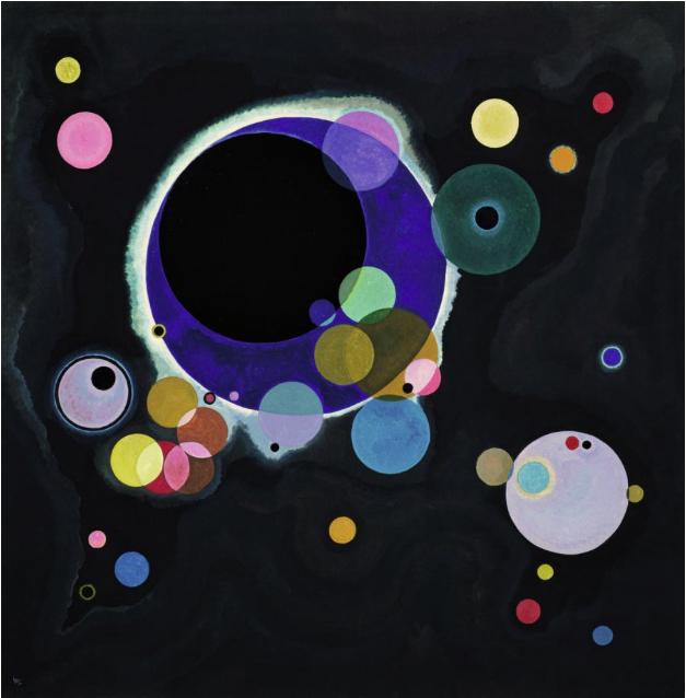 Wassily Kandinsky,  Several Circles , 1926