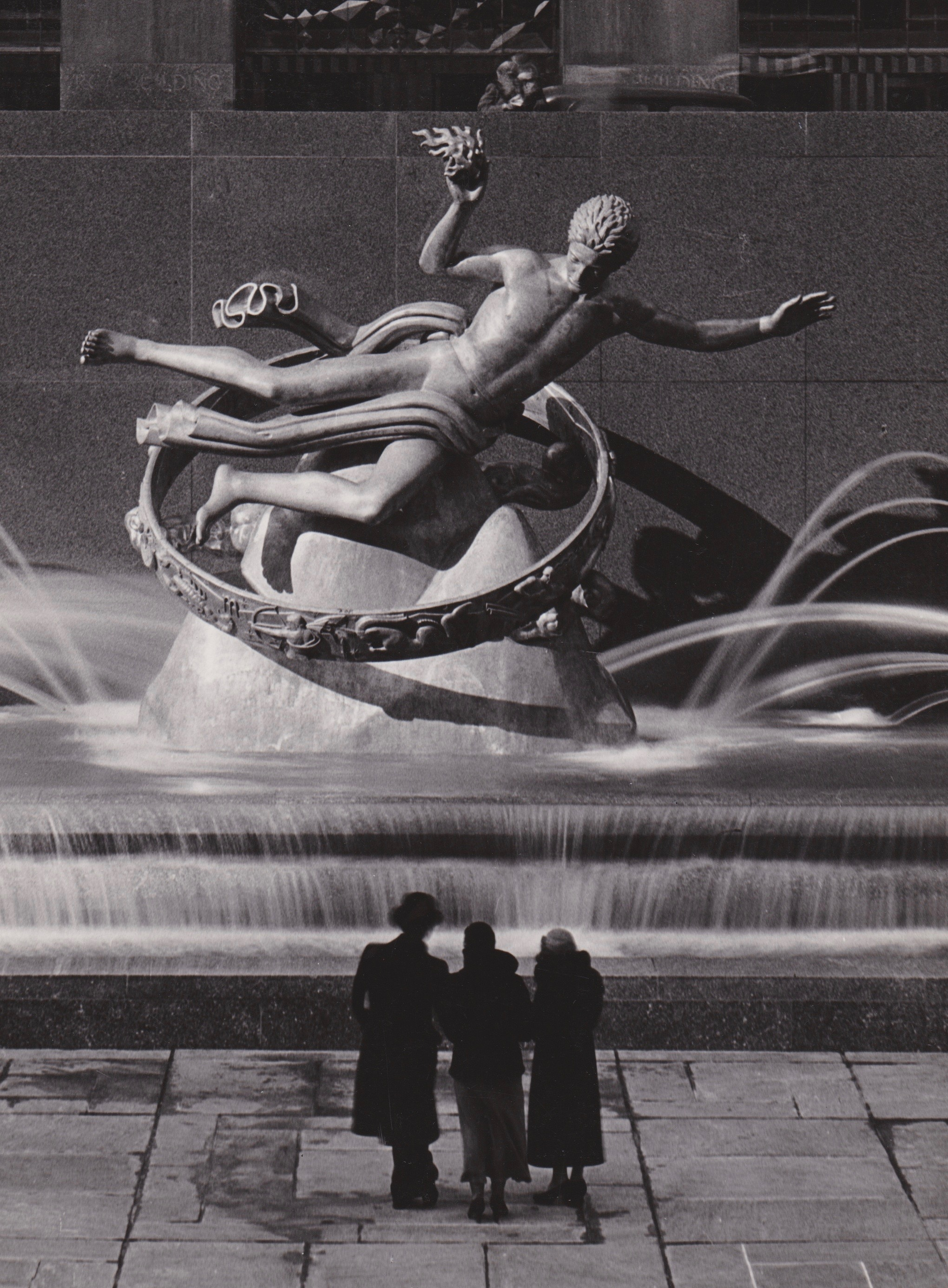The Prometheus Fountain                  Rockefeller Center