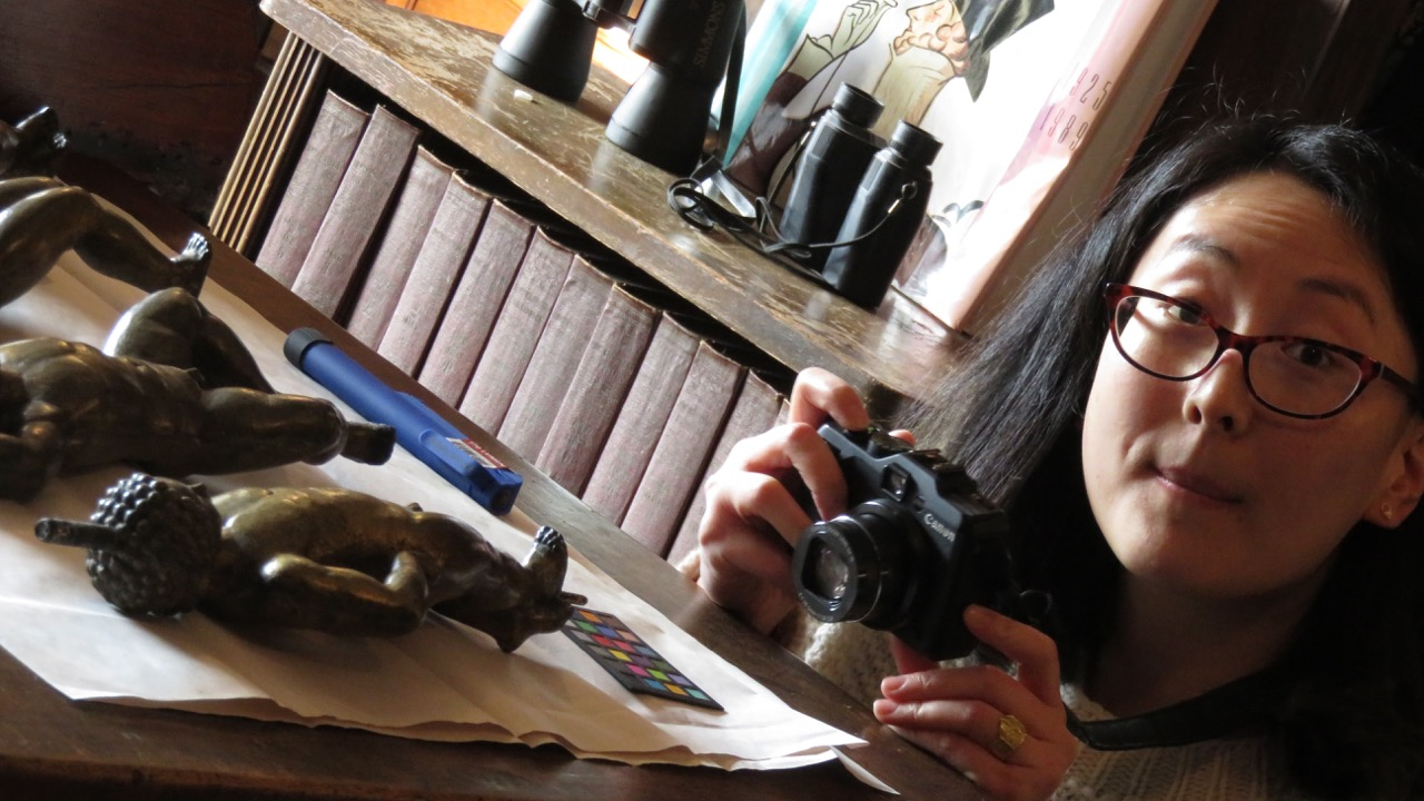 Dorothy Cheng, Lunder Conservation Fellow, Smithsonian American Art Museum @ the Manship Artists Residency + Studios