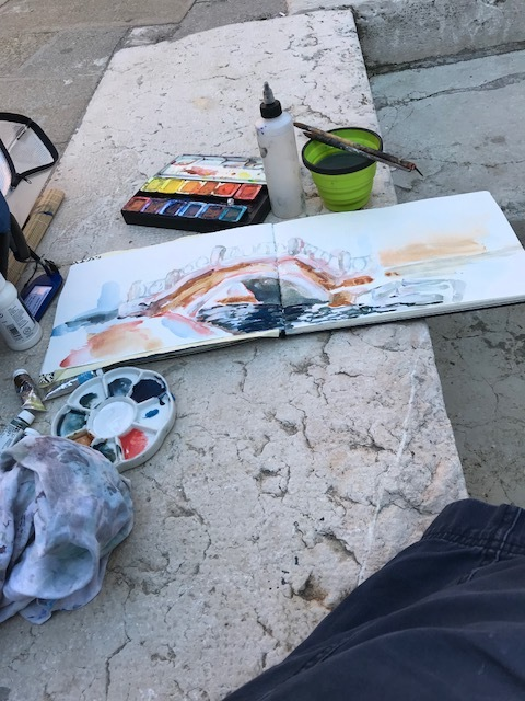 Martin Grealish painting in Venice.jpg