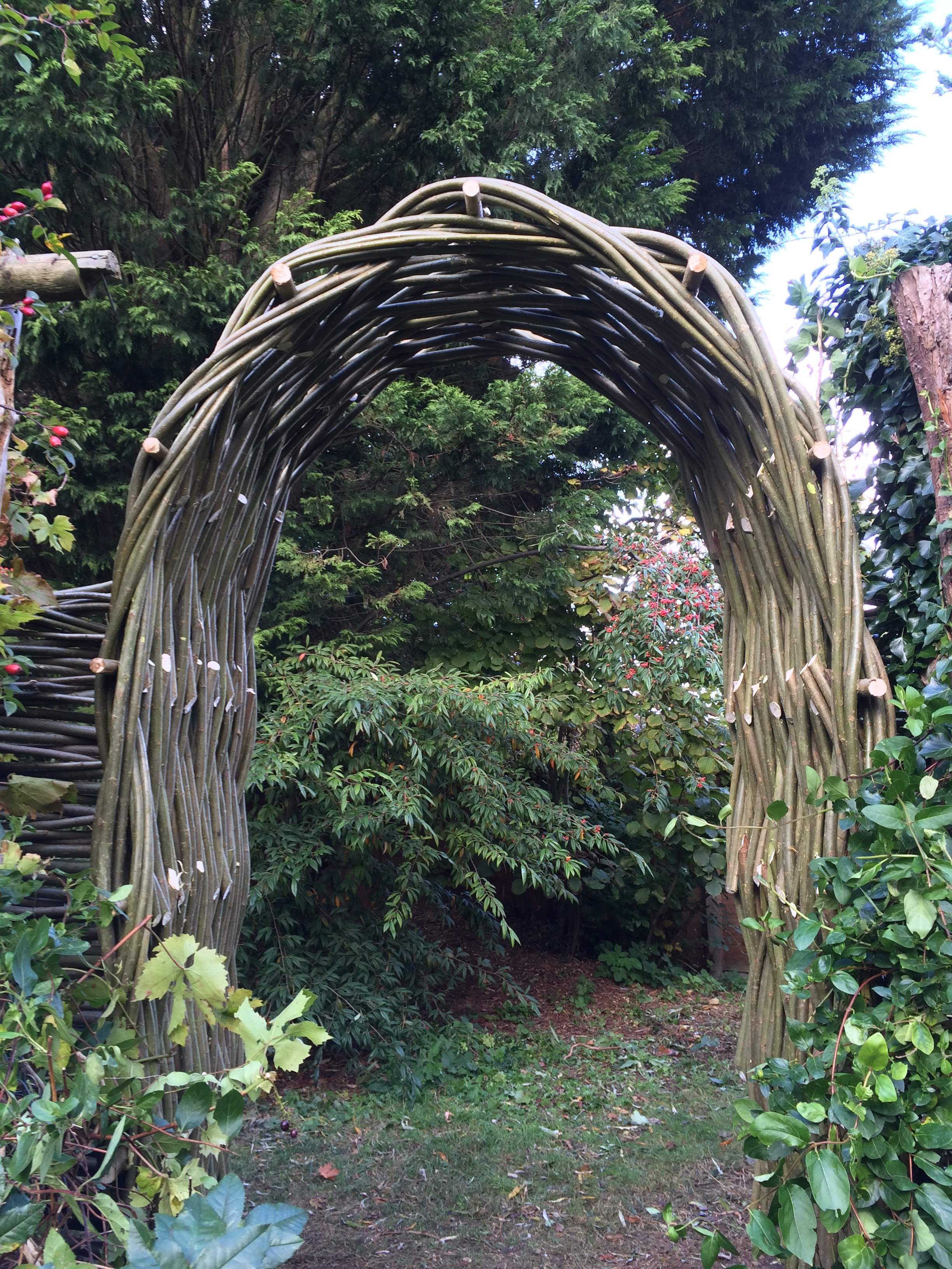 Woven archway