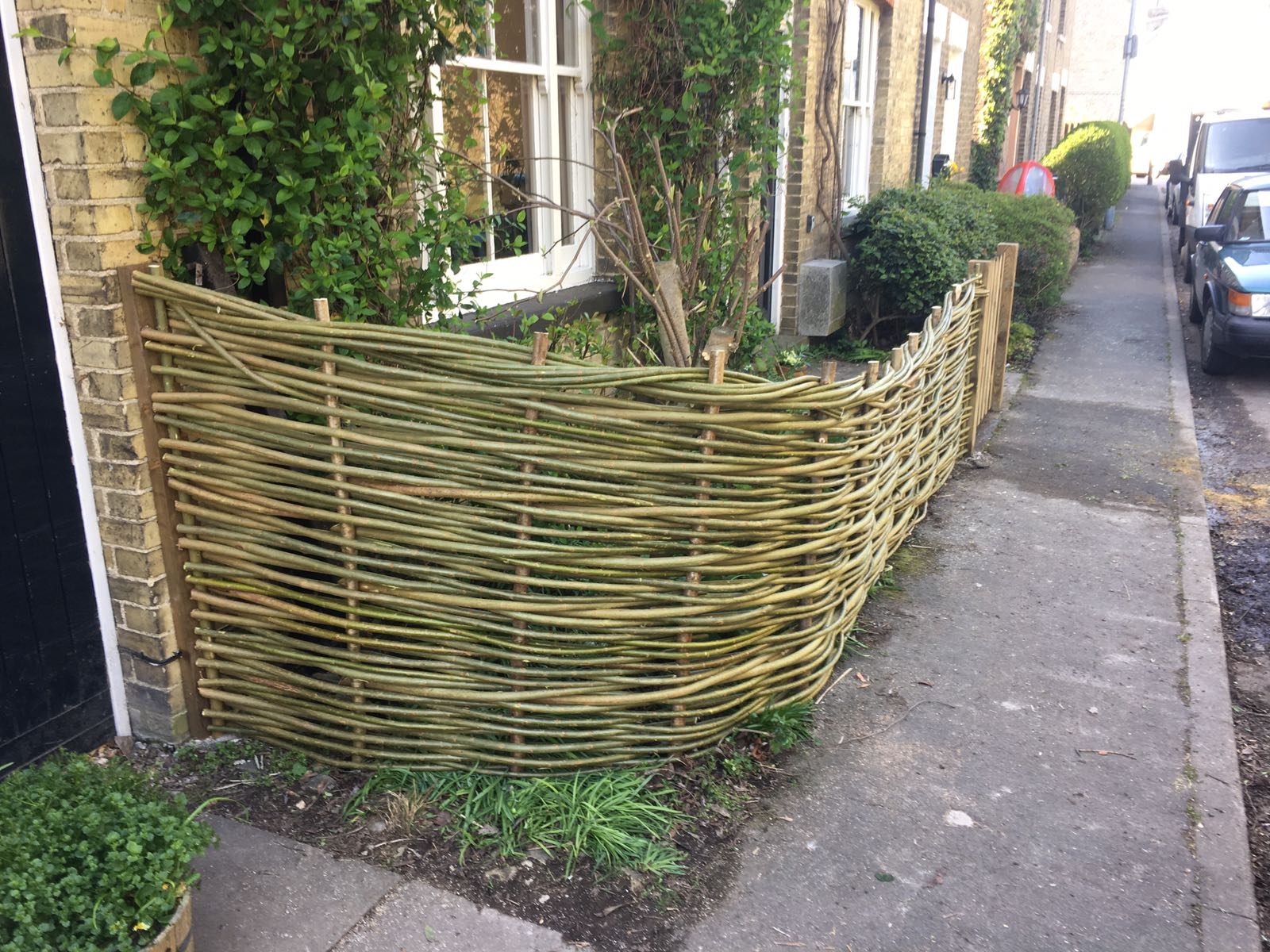 Natural fencing by WonderWood