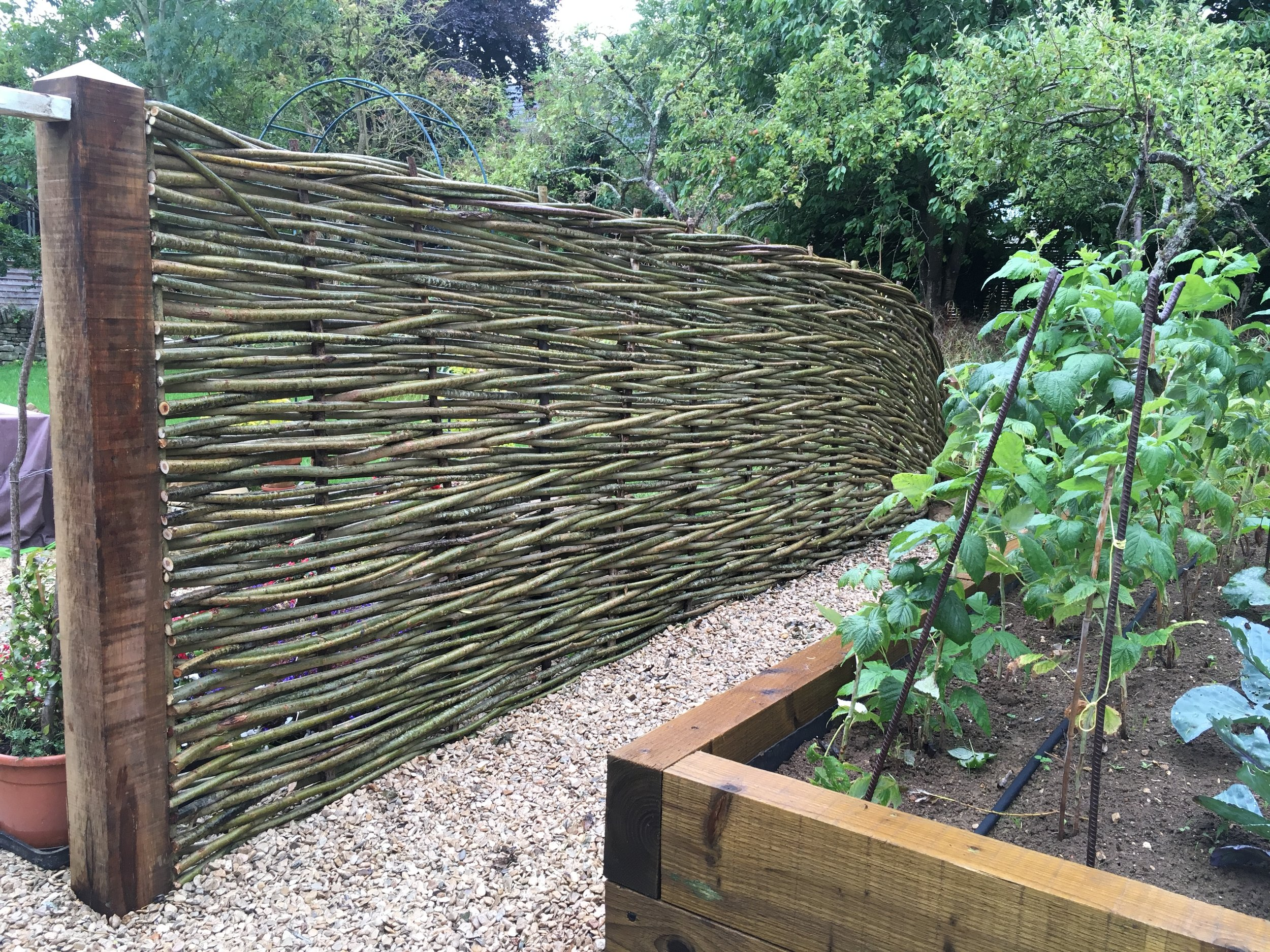Woven fencing