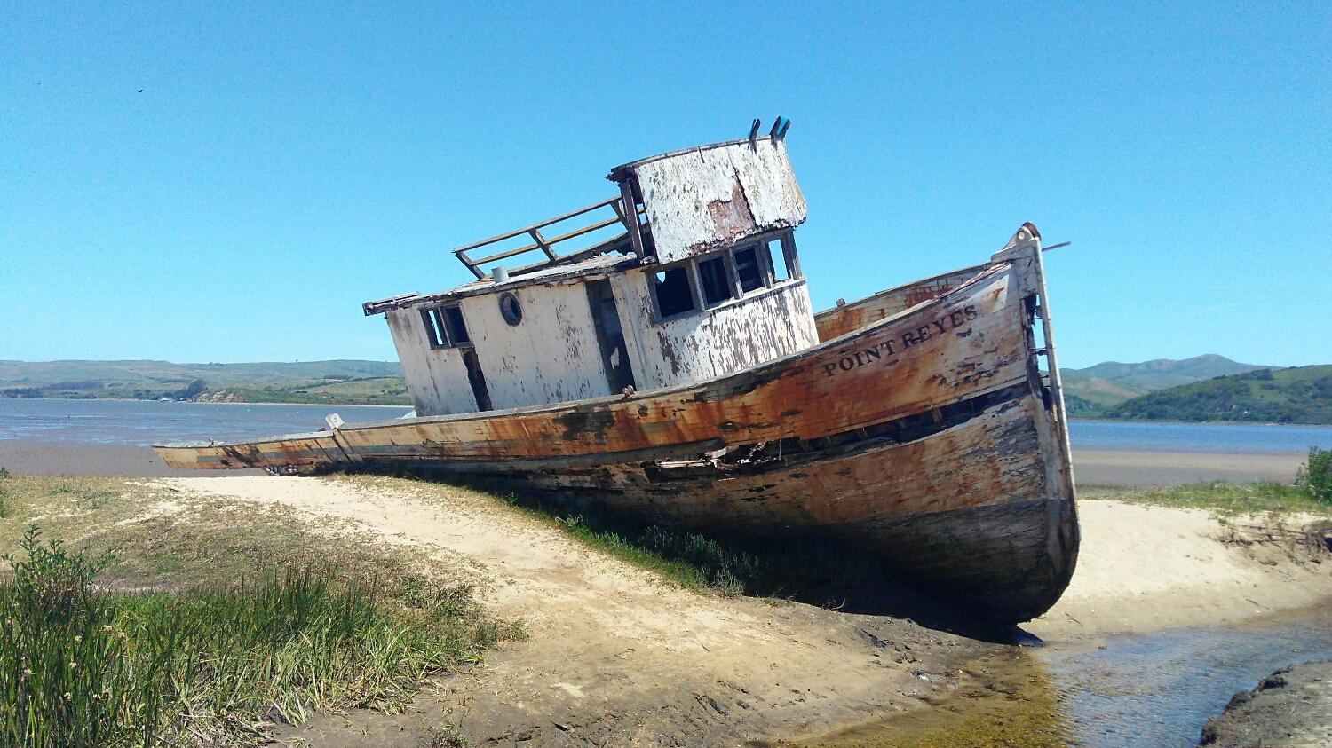 The Point Reyes' final voyage