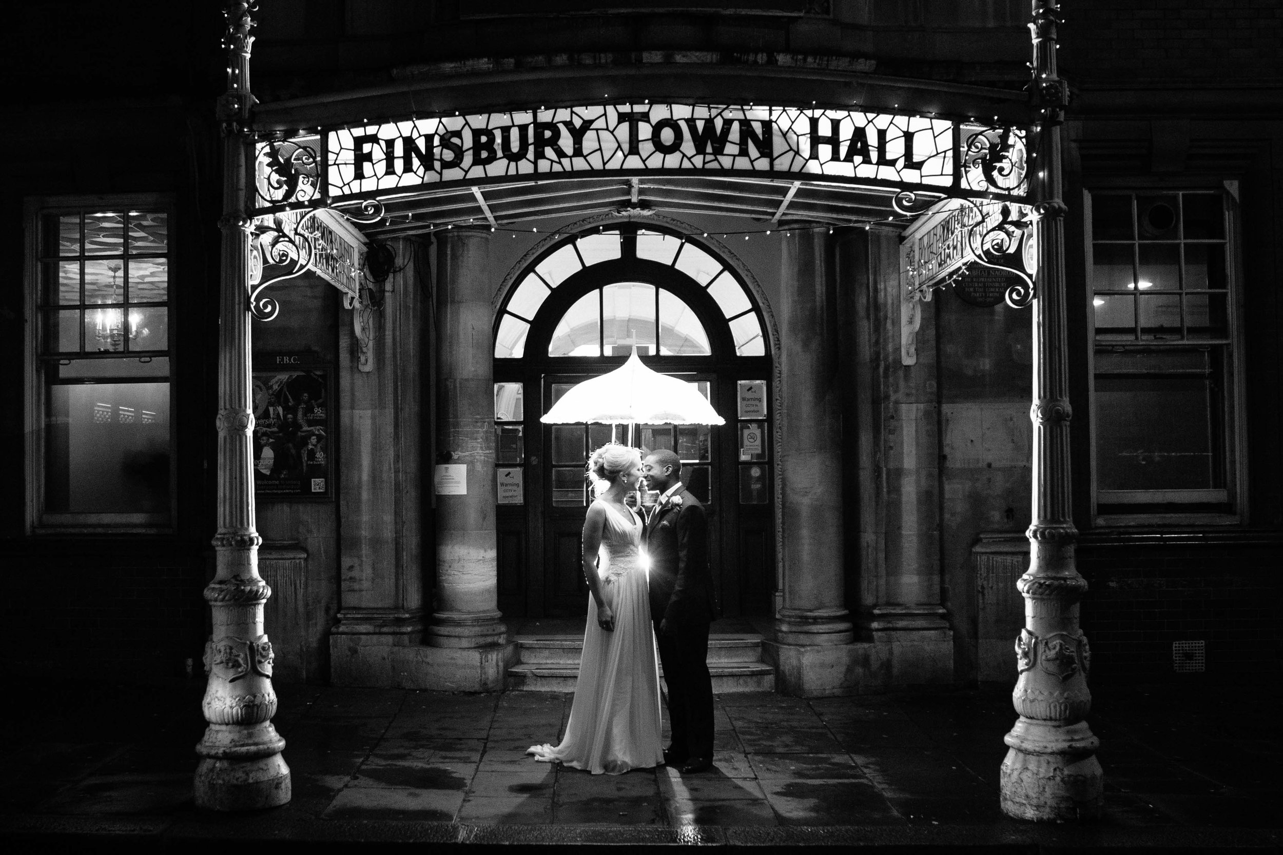 Weddings, Finsbury Town Hall