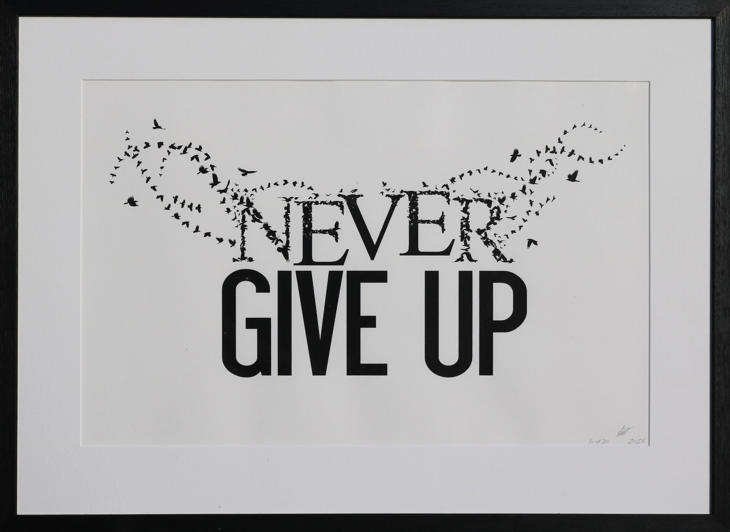 Never Giver Up