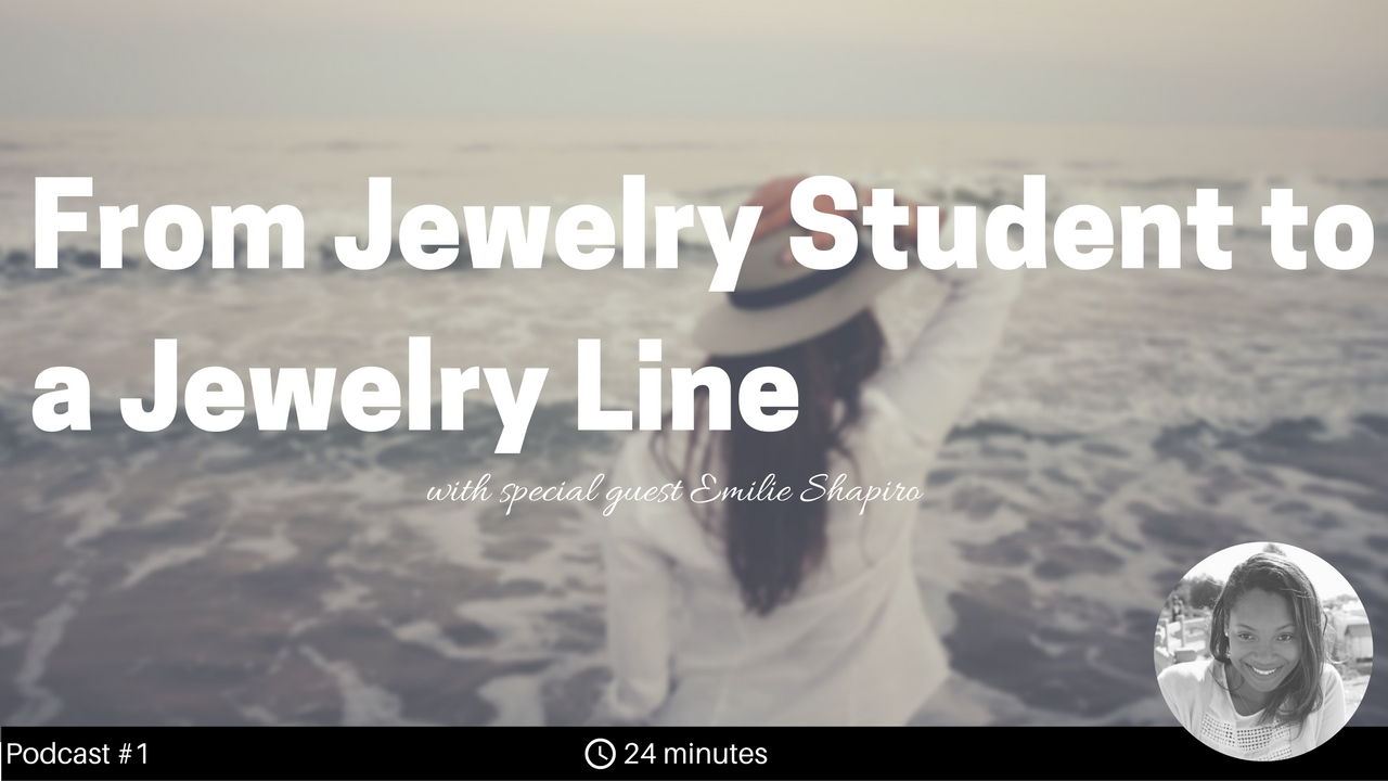 Emilie gained a deep understanding of the business of making jewelry after working for multiple jewelry brands as a production manager in New York City. She eventually left the formal jewelry industry world and began teaching. At the same time, her jewelry line started to take off.  In this show, we talk about what it takes to run a jewelry production line, the value of sharing knowledge among the jewelry community, and some of the biggest takeaways from her book, How to Create a Jewelry Line.