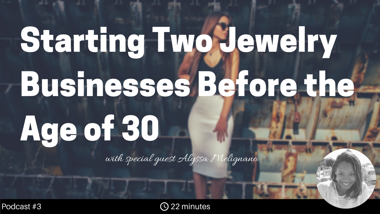 Alyssa started her first jewelry company, Rock Your Jewels, in college where she bought rings wholesale and sold at retail in places such as D.C., NY, and Maryland with the help of her sisters. Since then, she's launched her second jewelry business by leveraging her work experience in sales.  In this show, we discuss her strategies for wholesaling, marketing through social media, and making a profit selling jewelry from Instagram. Most recently, she has re-branded her Instagram presence into a full-fledged jewelry brand called SixtyStax.