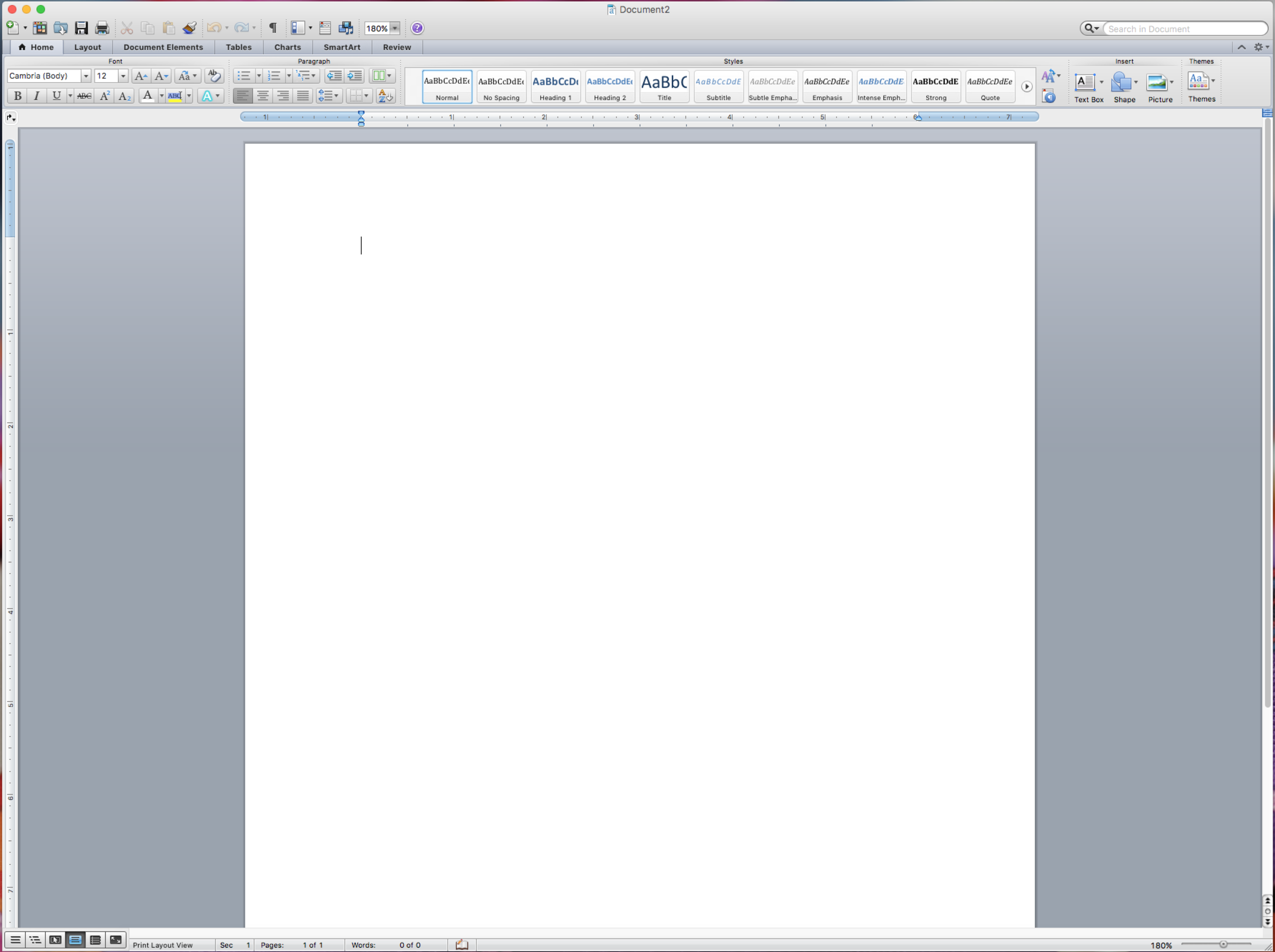 Woohoo...A blank sheet of paper!