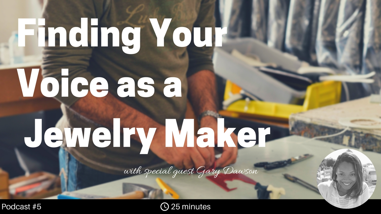Gary is a jewelry designer and goldsmith based out of Eugene, Oregon, with over 40 years of experience. After earning a Bachelor of Arts in Anthropology, he thought a career in law was the next logical step in his life. As fate would have it, he ended up setting up a home workshop and started making jewelry instead.  In this show, we discuss how to present a coherent voice to consumers, why many companies are struggling with technology and lack of expendable income, and finding your voice as a jewelry maker.