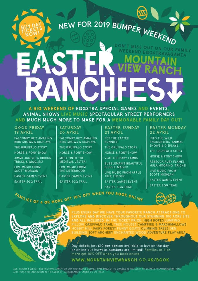 Our full #RanchFest line up!