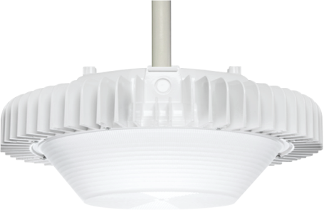 Designed and manufactured of powder-coated, die-cast aluminum, the CLG series IP66 rated luminaires, with their highly-efficient integrated heat sink with over 1,000 sq. in. of surface area, will provide superior performance for decades in harsh outdoor or indoor conditions such as parking garages, warehouses, gymnasiums, natatoriums, etc. The CLG comes standard with proprietary 44kV surge protection.