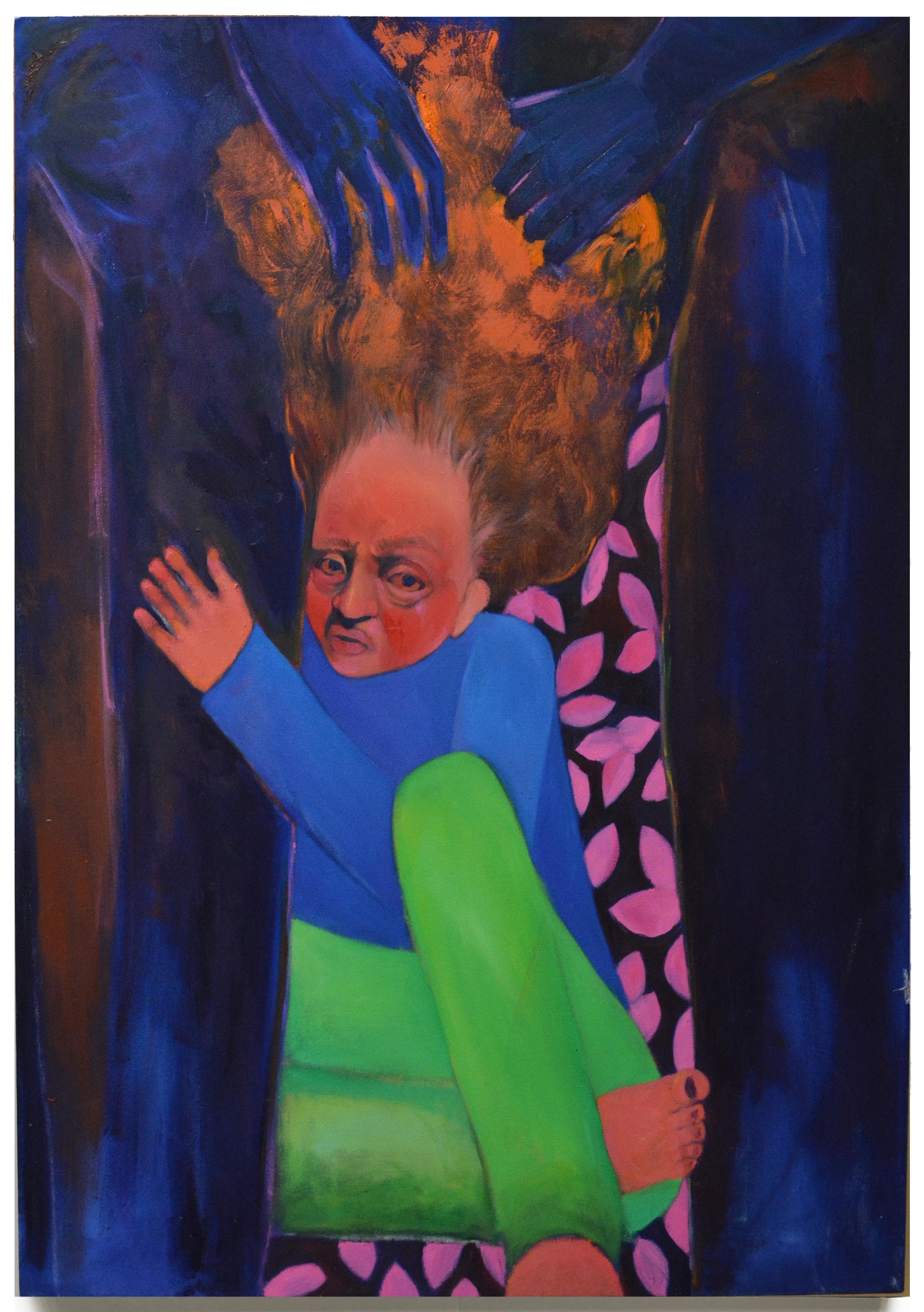 "Birth . Oil on Canvas . 48"" x 60"" . 2015"
