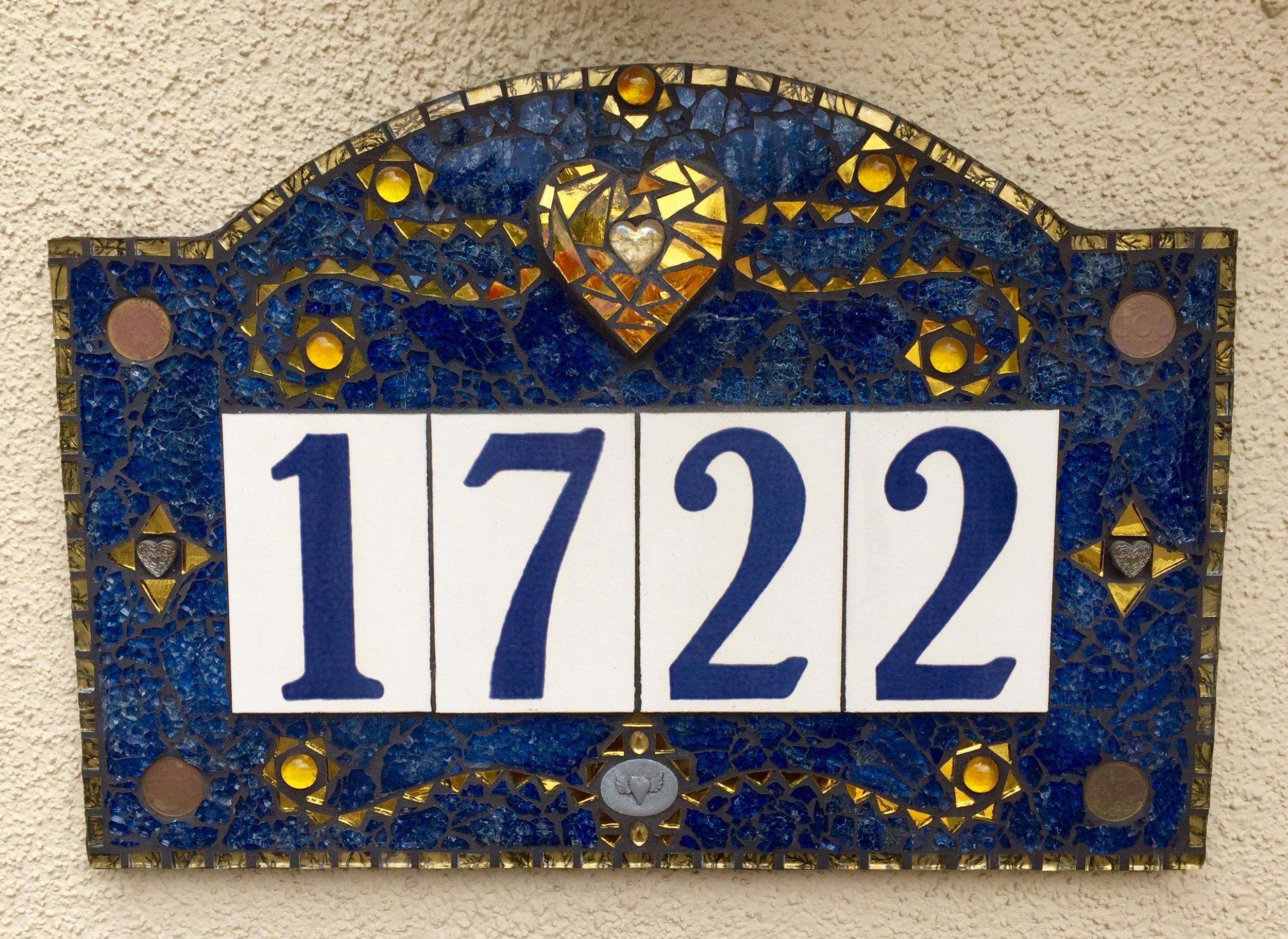 Address Sign - SOLD