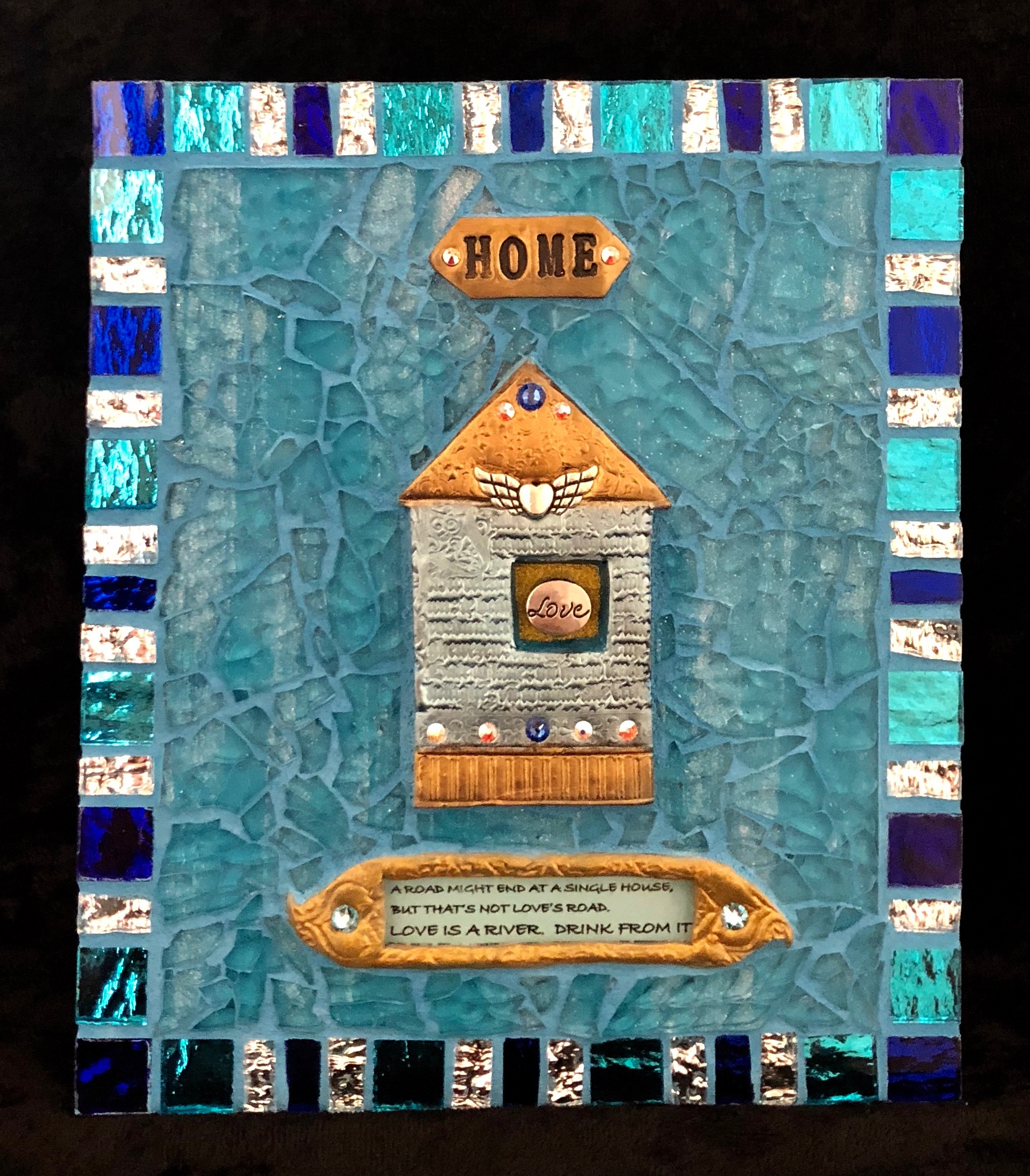 """Home 7"""" x 6"""" SOLD"""