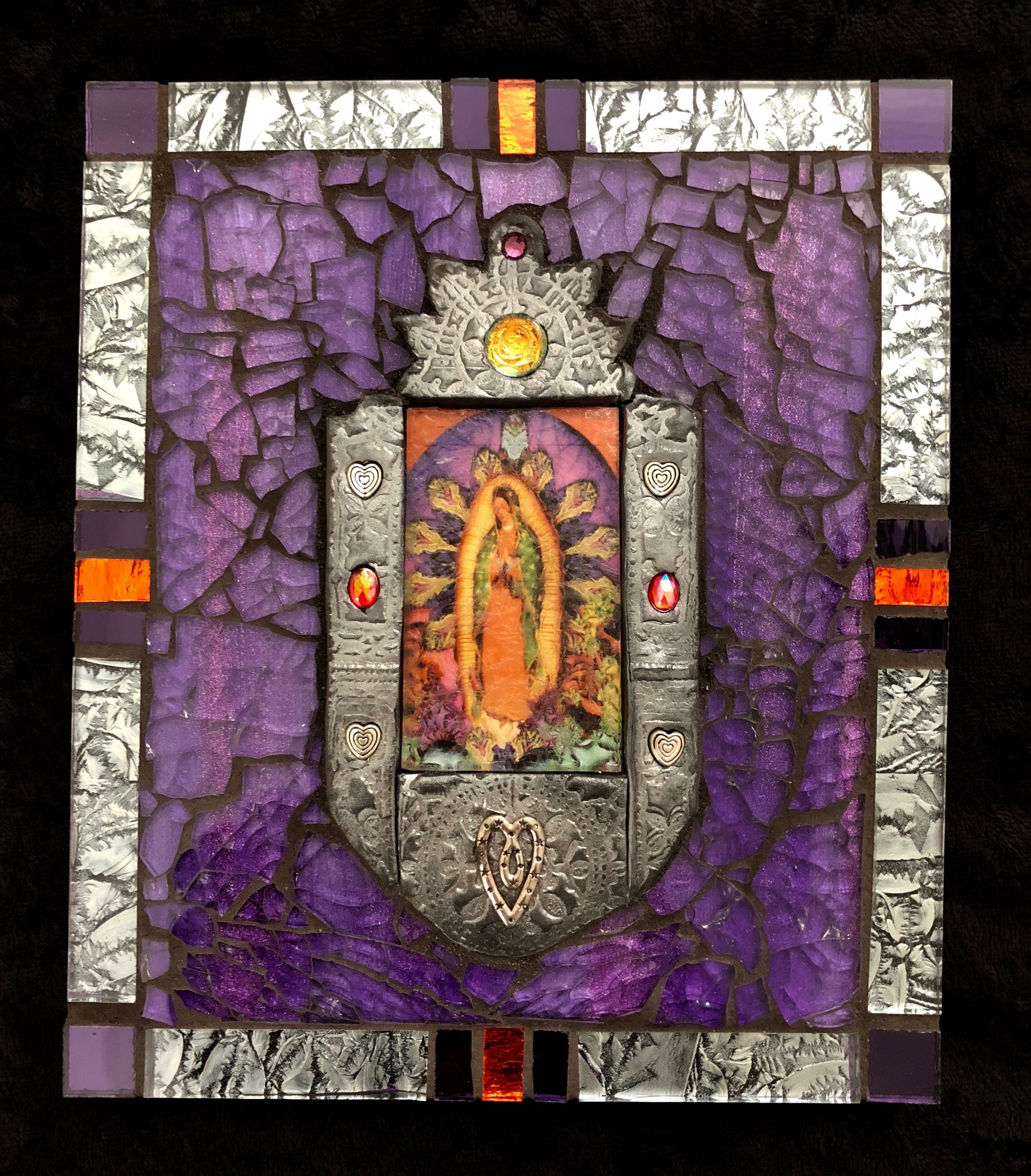 """Guadalupe 7"""" x 6"""" SOLD"""