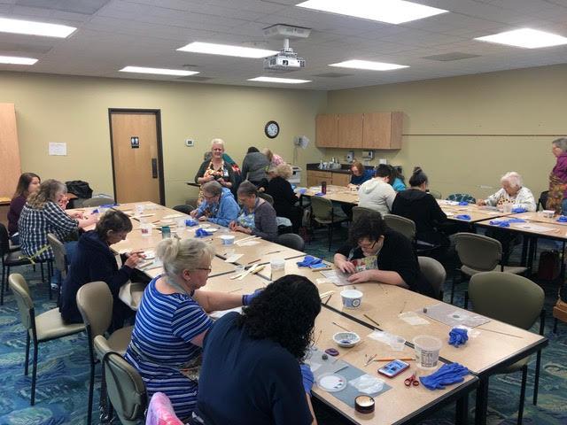 ArtsCare, Samaritan Bell Mosaic Workshop