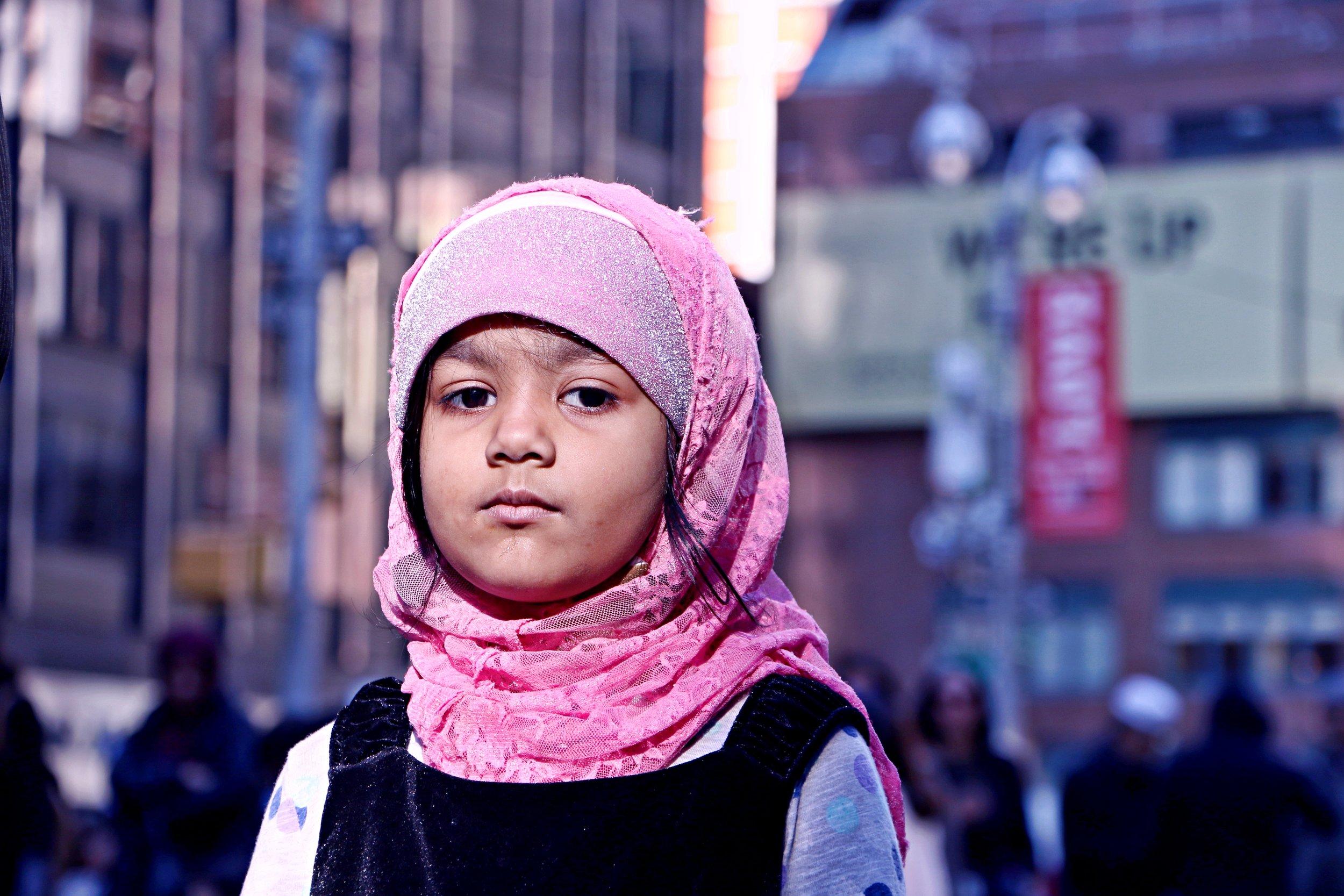 I am a Muslim Too, Times Square. February 19th, 2017