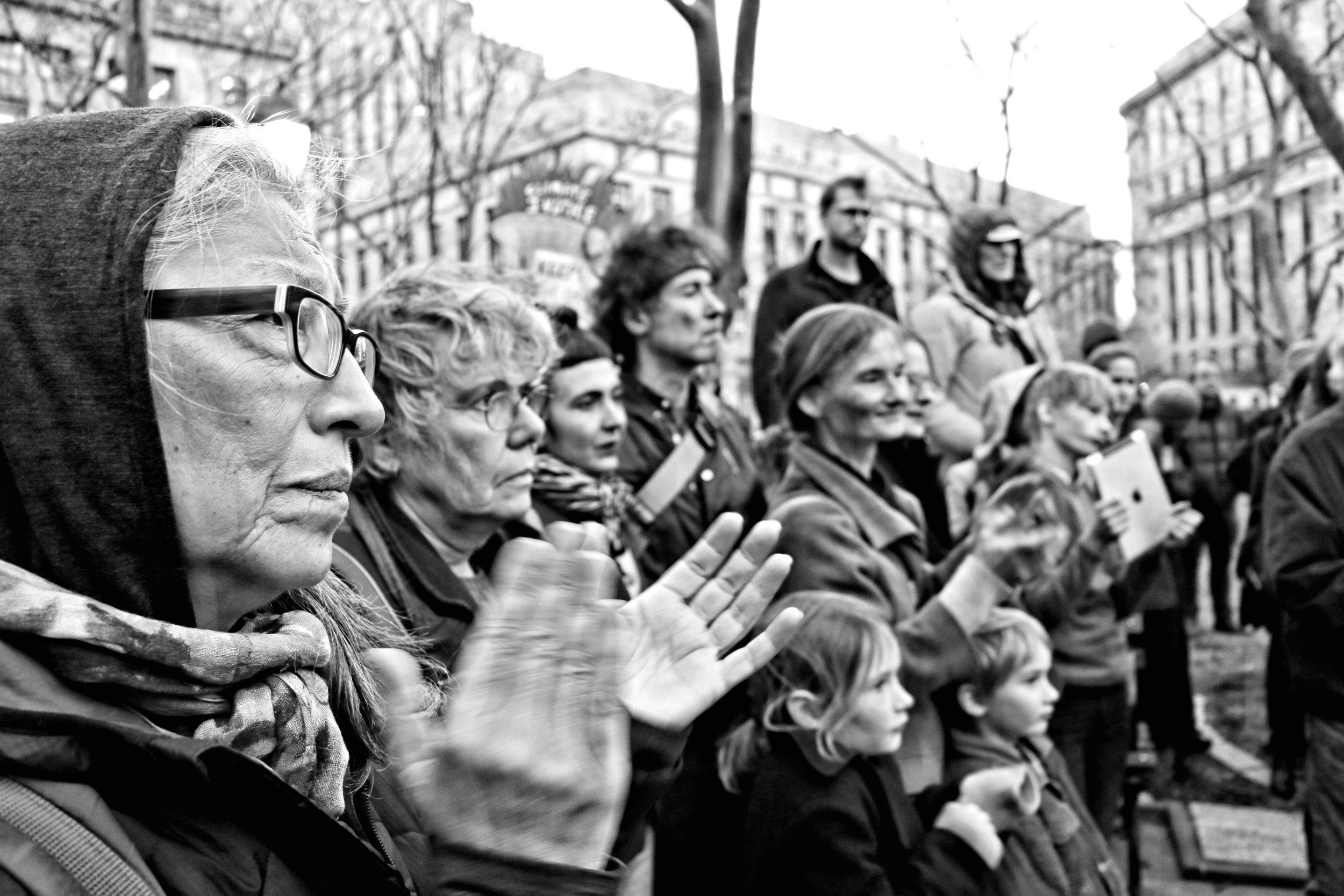 Emergency No DAPL Protest, Foley Square, February 8th, 2017