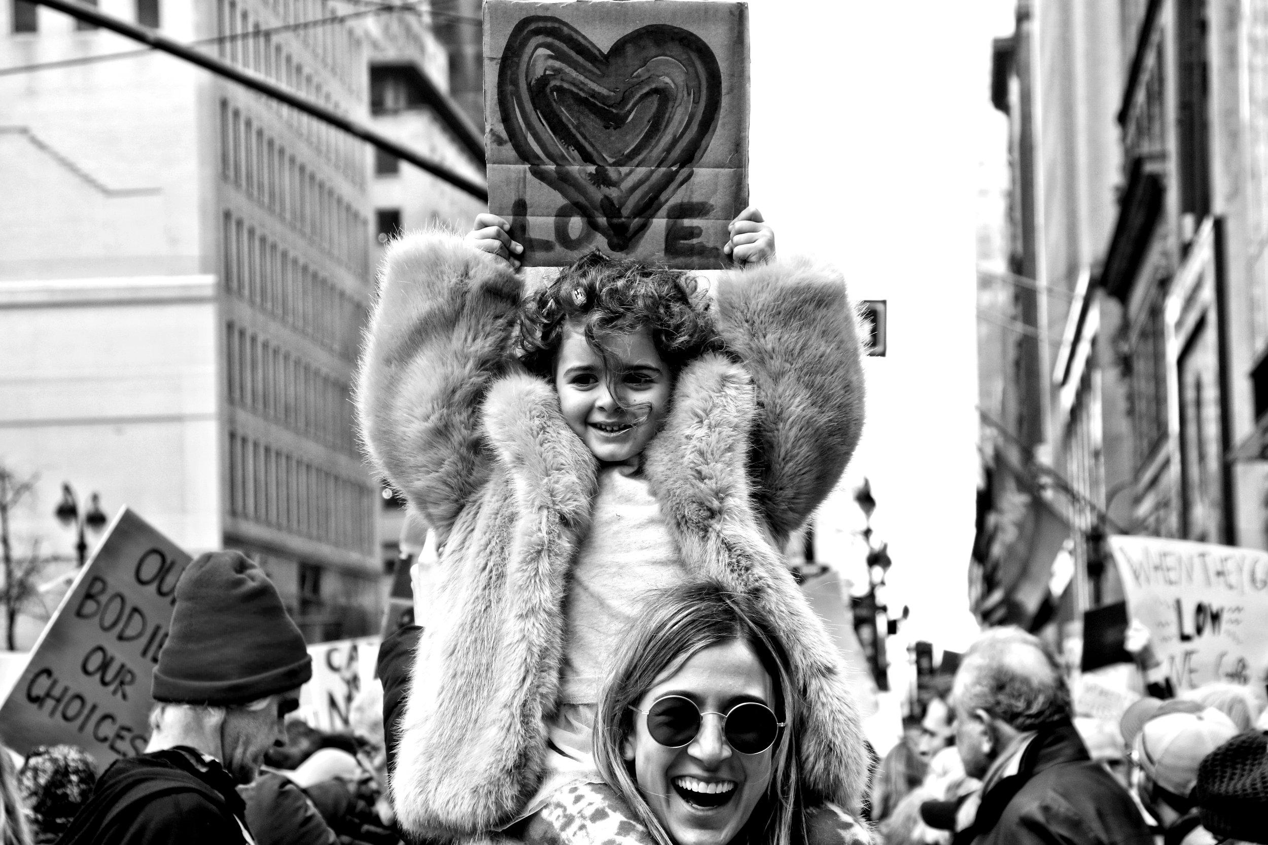 Women's March, New York City, January 21st, 2017