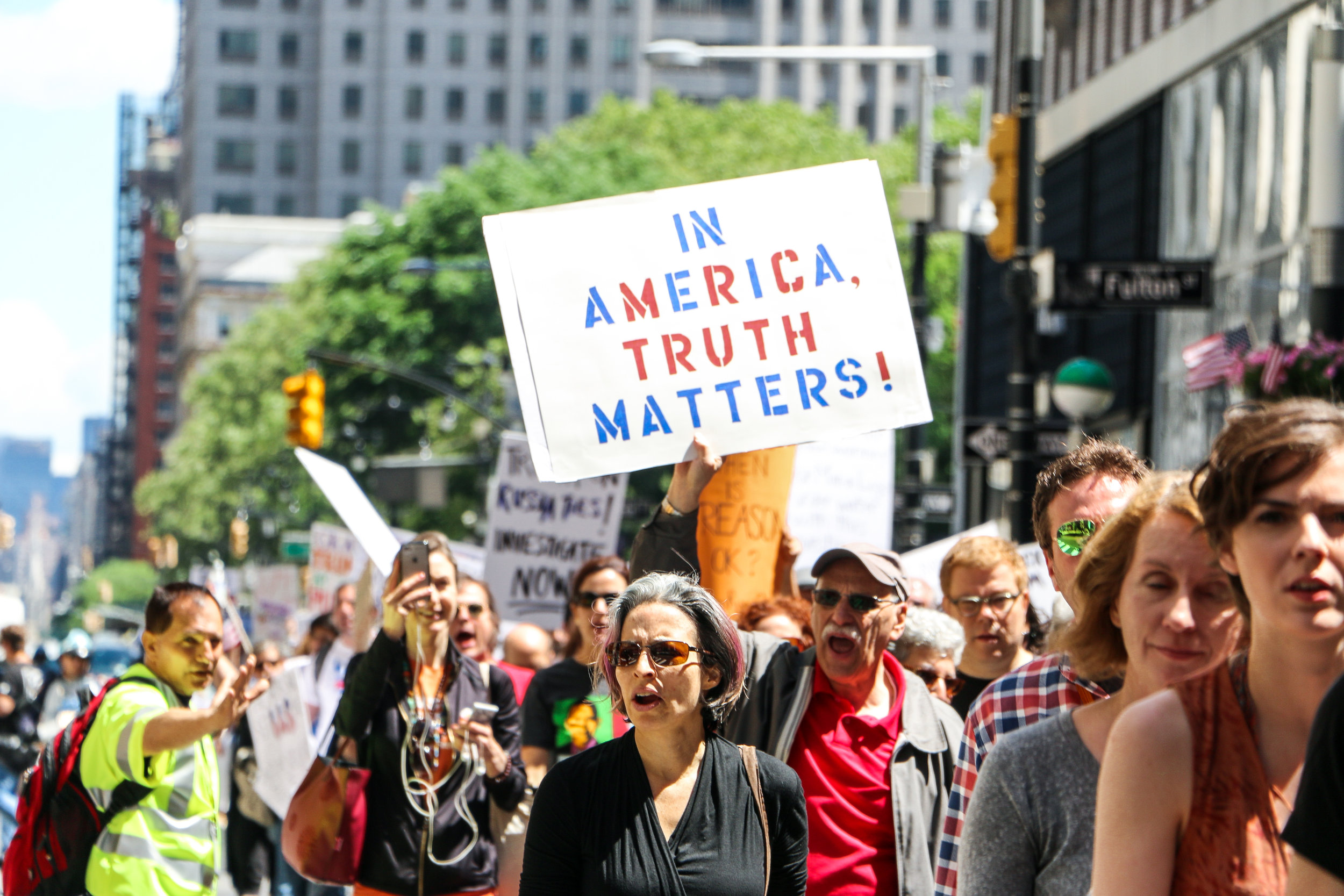 March for Truth. June 3rd, 2017. New York City.