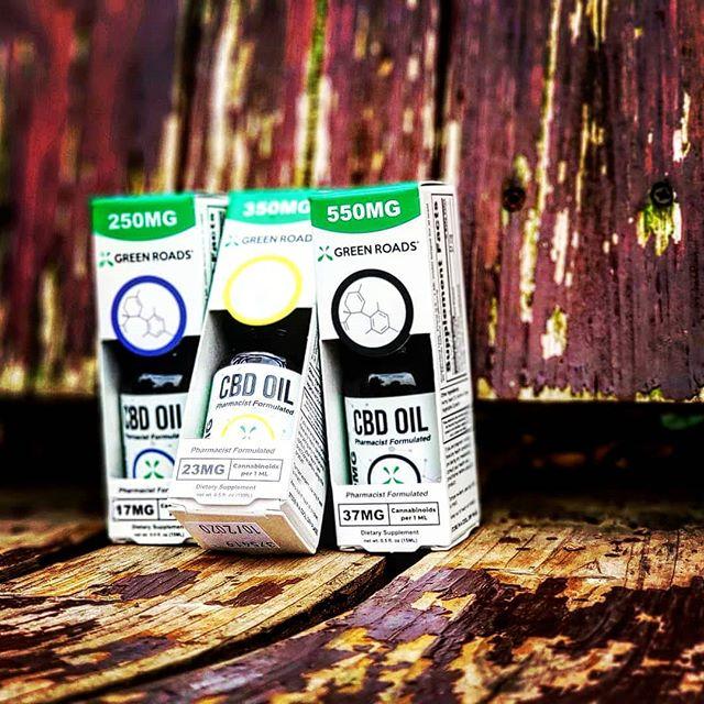 @greenroads CBD tinctures