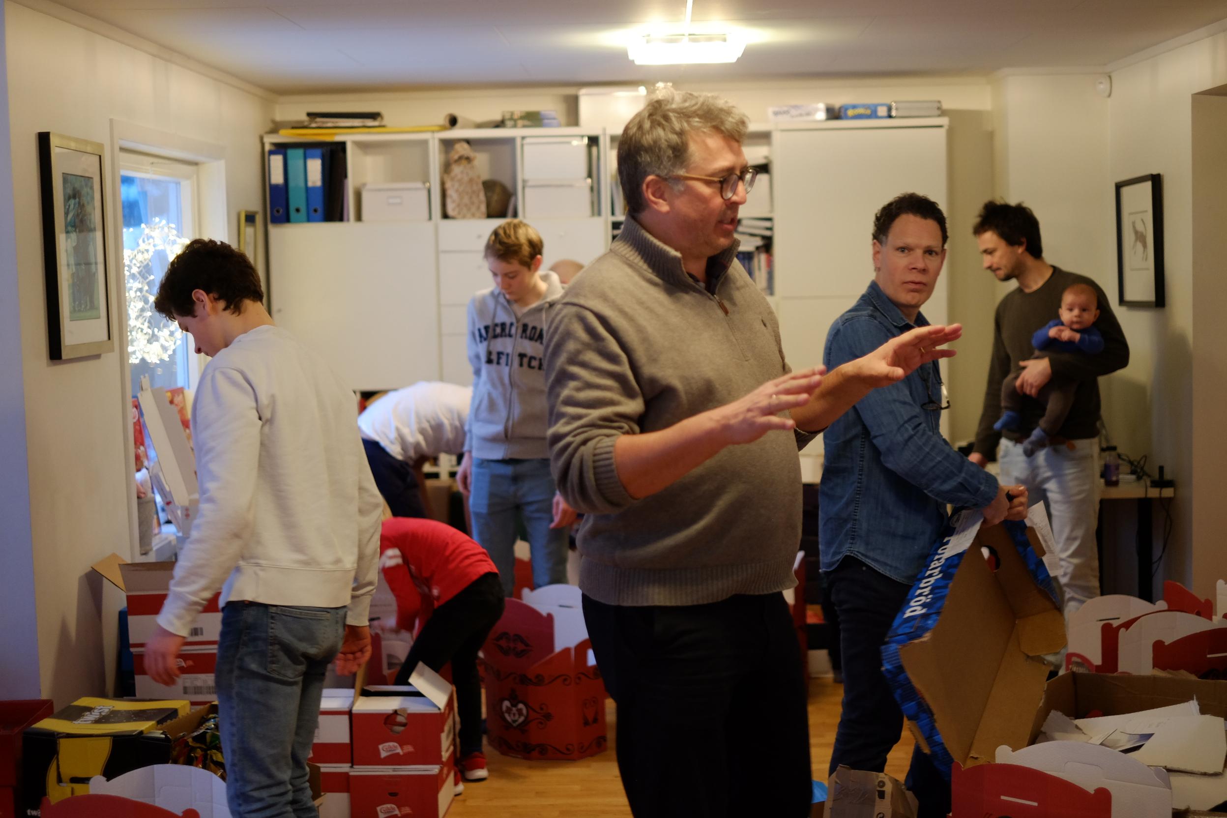 Jakob Grova sørger for at Juleaksjonen gjennomføres hvert år.