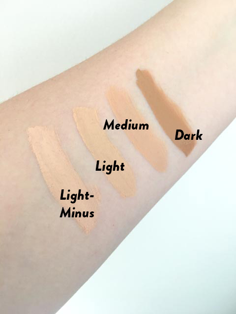 PERFECT CONCEALER COLORS  *NOTE* THIS IS THE CORRECTED PHOTO ABOVE