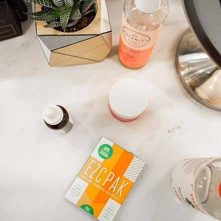 BEAT COLD AND FLU SEASON NATURALLY, and stay healthy while traveling! Immune Support TO KEEP YOU HEALTHY ALL WINTER LONG. Echinacea, Zinc, and Vitamin C! {20% off}{F} - EZC PakUse code: PALM20 for 20% Off All Orders. Valid: 11/22 to 12/01. Limit one use per customer Popular: EZC Active Pak