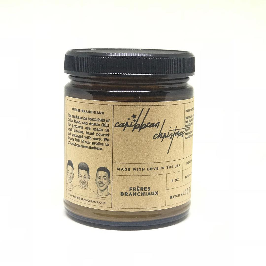 1. Freres Branchiaux Candle Co. - $25