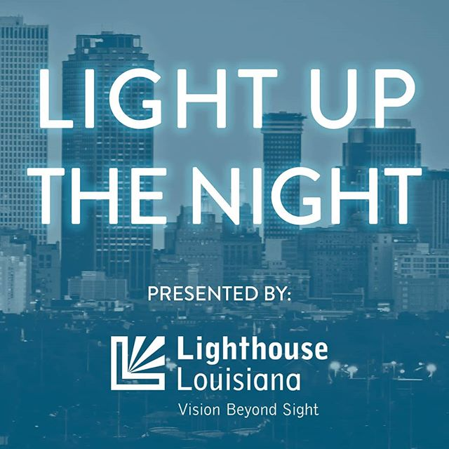 Our #NOLA team is excited to be supporting #LighthouseLouisiana tonight at #LightUpTheNight. This amazing organization empowers visually impaired individuals by helping place them in jobs and regain their independence!  Learn more 👉 Link in Bio 👈  #FeelGoodFriday #GiveBack #Empower  #VerdadRealEstate #VerticalCM