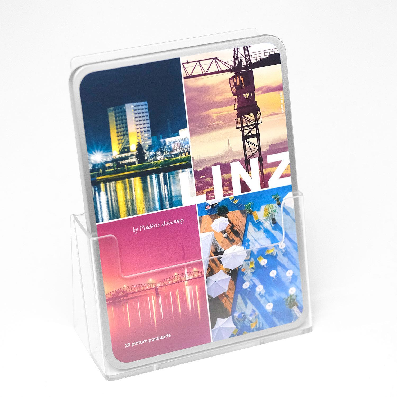 Postkarten-Box - 20 ausgewählte Linz-Postkarten zum Verschicken, Verschenken oder Sammeln.