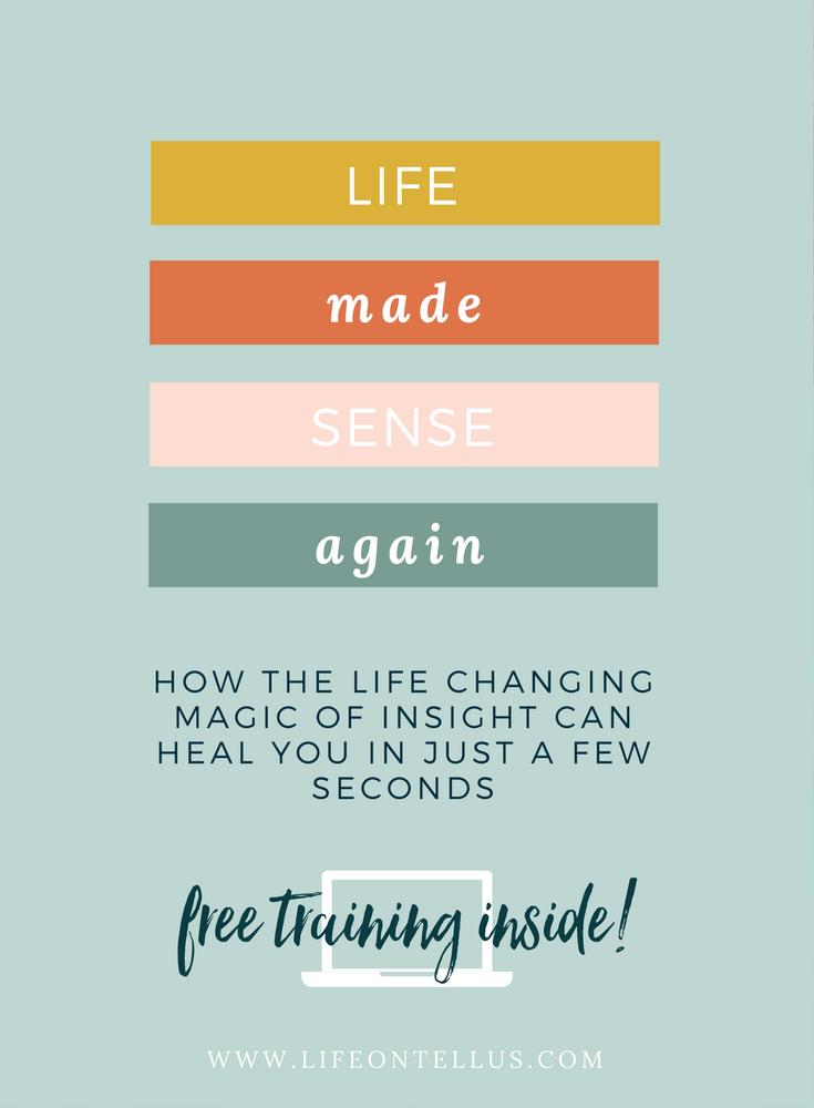 How the life changing magic of insight can heal in an instant