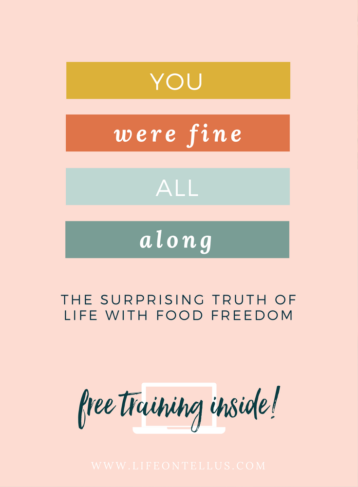 The Surprising truth of life with food freedom