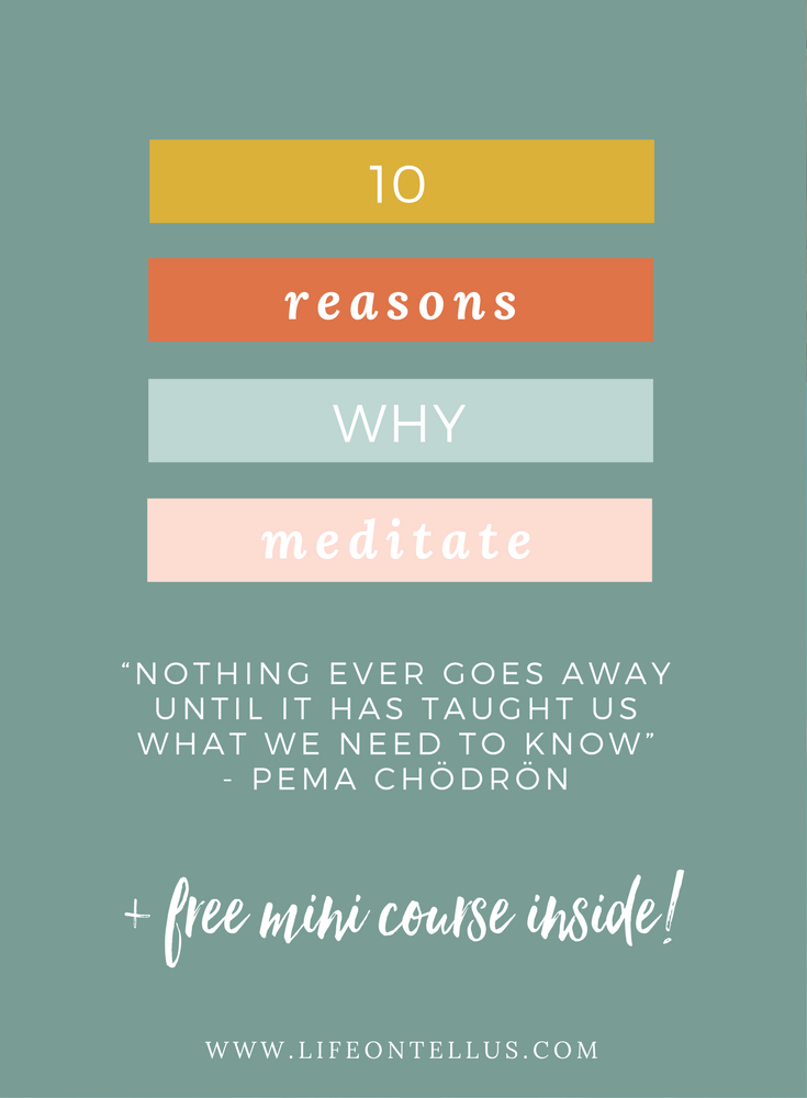 10 reasons why you should meditate