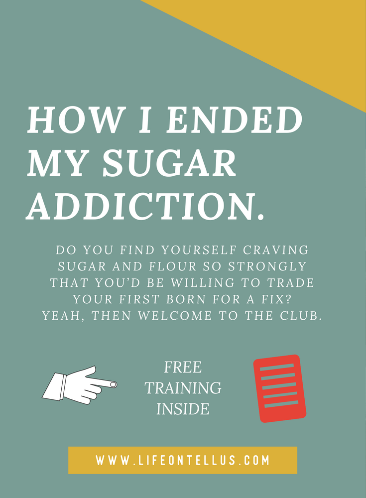 how to end sugar addiction