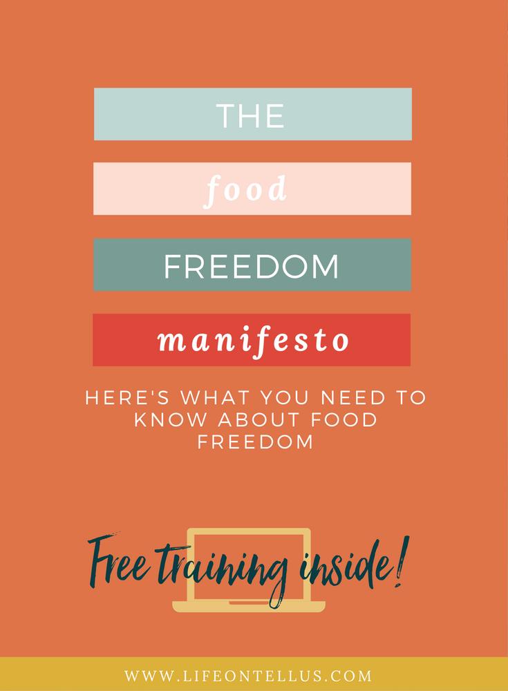 The Food Freedom Manifesto