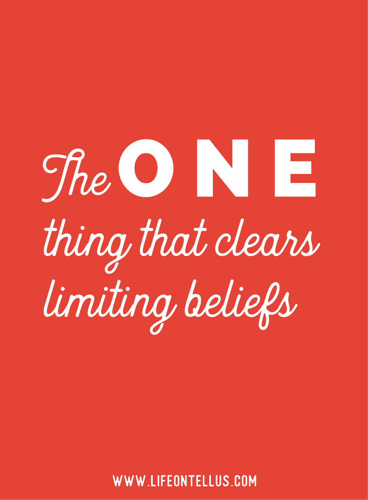 The key to clearing limiting beliefs