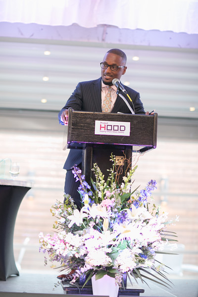 Our Master of Ceremonies was Mr. Cornelius Griggs, President of GMA Construction Group.