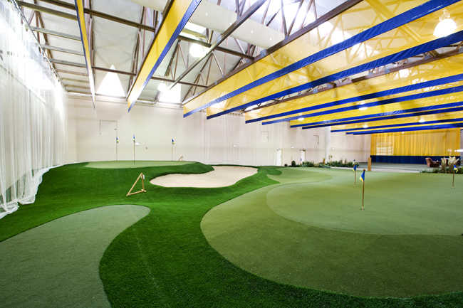 Indoor Practice Facility at Rich Harvest Farms